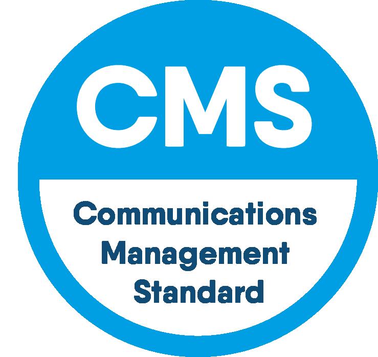 Firefly ist seit über 15 Jahren dem Communications Management Standard der PRCA verpflichtet.